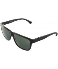 Emporio Armani Ea4035 58 modernes noir 501771 lunettes de soleil