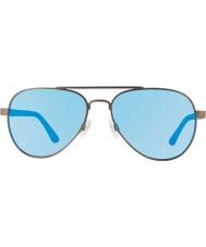 Revo Re1011 raconteur gunmetal - lunettes de soleil polarisées eau bleu