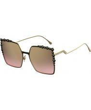 Fendi Ladies ff 0259-s 2o5 53 lunettes de soleil