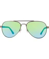 Revo Re1011 raconteur gunmetal - lunettes de soleil polarisées eau verte