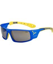 Cebe Ice 8000 lunettes de soleil jaunes bleu électrique