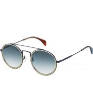 Tommy Hilfiger Th 1455-s BQZ lunettes de soleil bleu 08 mat