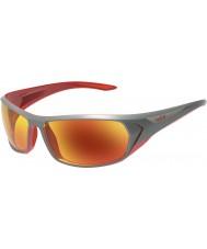 Bolle anthracite brillant Blacktail lunettes de soleil tns rouge d'incendie
