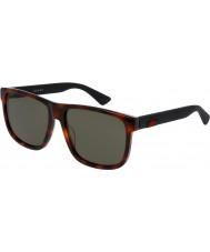 Gucci Mens gg0010s 006 lunettes de soleil
