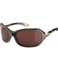 Bolle Grâce tortoiseshell brillant lunettes de soleil polarisées a-14