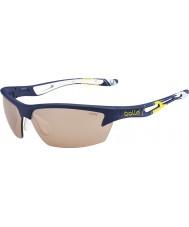 Bolle Bolt ryder cup modulateurs bleu jaune lunettes de soleil v3 de golf