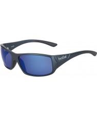 Bolle Kingsnake mat bleu lunettes de soleil bleu mer polarisées