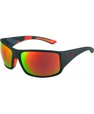 Bolle Mates camo noir serpent-tigre lunettes de soleil tns polarisée d'incendie