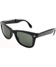 RayBan RB4105 50 pliage wayfarer noir 601-58 lunettes de soleil polarisées