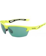 Bolle Bolt néon Competivision jaune lunettes de soleil de tennis des armes à feu