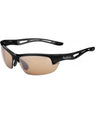 Bolle modulateurs noir lunettes de soleil v3 de golf de Bolt