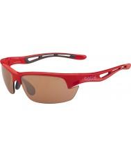 Bolle brillant modulateurs rouge lunettes de soleil v3 de golf de Bolt
