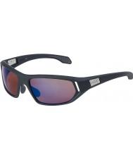 Bolle Cervin satin gris foncé rose lunettes de soleil bleu