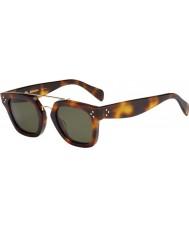 Celine Mesdames cl 41077-s 05L 1E lunettes de soleil havane