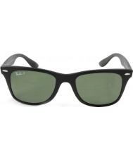 RayBan Rb4195 52 wayfarer liteforce mat 601s9a noir lunettes de soleil polarisées