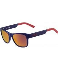 Lacoste lunettes de soleil bleu L829s