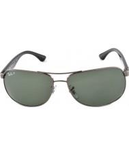 RayBan Rb3502 61 highstreet Gunmetal 004-58 lunettes de soleil polarisées