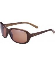 Bolle Molly mat chocolat lunettes de soleil polarisées grès d'armes à feu