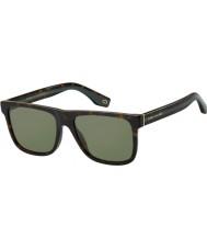 Marc Jacobs Mens marc 275 s 086 qt 55 lunettes de soleil