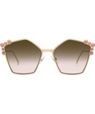 Fendi Mesdames ff0261 s 0 53 57 peut lunettes de soleil pour les yeux