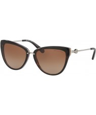 Michael Kors Mk6039 56 abela ii sombre tortoiseshell lavande 314513 lunettes de soleil