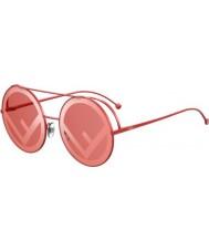 Fendi Mesdames ff0285 s c9a 0l 63 fuir lunettes de soleil
