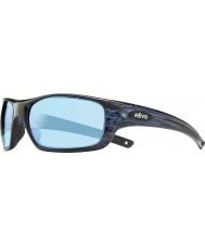 Revo Guide Re4073 ii marine similibois - lunettes de soleil polarisées eau bleu