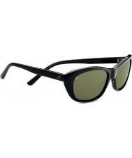 Serengeti Bagheria écaille gris noir lunettes de soleil polarisées de 555nm