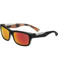 Bolle Jude mat noir orange lunettes de soleil polarisées tns d'incendie
