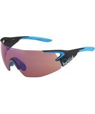 Bolle lunettes de soleil 5ème élément bleu pro de carbone mat rose-bleu