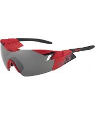 Bolle 6ème sens mat rouge tns noir des lunettes de soleil d'armes à feu