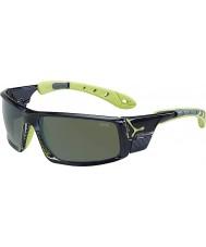 Cebe Ice 8000 lunettes de soleil polarisées anis gris translucide