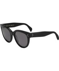 Celine Mesdames cl 41755 807 lunettes de soleil noires 3h