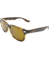 RayBan Junior Rj9052s 47 nouveaux wayfarer brillants havana 152-3 lunettes de soleil