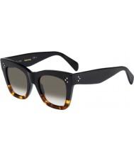 Celine Mesdames cl 41090-s FU5 z3 lunettes d'écaille noir
