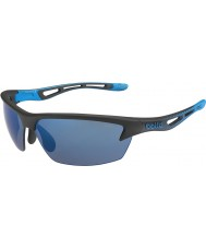 Bolle lunettes de soleil Bolt noir mat rose-bleu