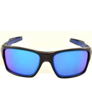 Oakley turbine Oo9263-05 encre noire - lunettes de soleil saphir iridium