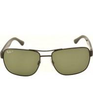 RayBan lunettes de soleil Rb3530 58 highstreet gunmetal 002-9a polarisées