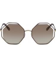 Chloe Mesdames ce132s 205 58 lunettes de soleil coquelicot
