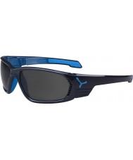 Cebe S-cape grand anthracite bleu lunettes de soleil polarisées