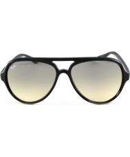 RayBan RB4125 59 chats noirs 5000 601-32 lunettes de soleil