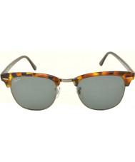 RayBan RB3016 51 clubmaster tacheté bleu havana 1158r5 lunettes de soleil