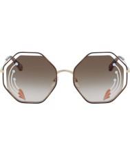 Chloe Mesdames ce132sri 258 58 lunettes de soleil coquelicot
