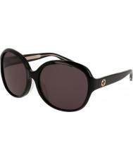 Gucci Mesdames gg0080sk 001 lunettes de soleil