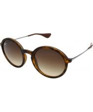 RayBan Rb4222 50 jeune caoutchouc tortoiseshell 865-13 lunettes de soleil