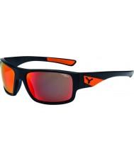 Cebe Murmure mat des lunettes de soleil orange noir