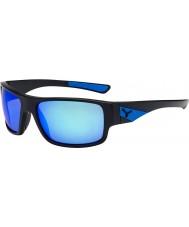 Cebe Murmure mat des lunettes de soleil noir bleu