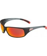 Bolle 12438 lunettes de soleil noires de recul