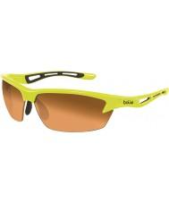 Bolle Bolt néon modulateur jaune lunettes de soleil ambre