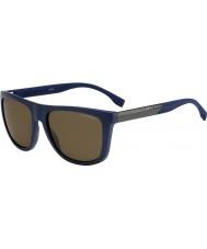 HUGO BOSS Mens boss 0834-s hwq sp lunettes de soleil polarisées bleu